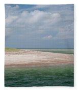 Cape Cod Beach Fleece Blanket