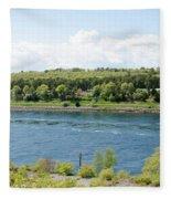 Cape Cod Canal Fleece Blanket