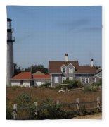 Cape Cod Light Fleece Blanket