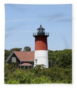 Cape Cod - Nauset Lighthouse - Ma Fleece Blanket