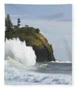 Cape Disappointment 3 A Fleece Blanket