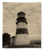 Cape Disappointment Lighthouse 2 Fleece Blanket
