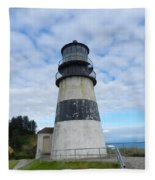 Cape Disappointment Lighthouse 3 Fleece Blanket