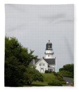 Cape Elizabeth Light I Fleece Blanket