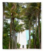 Cape Florida Walkway Fleece Blanket