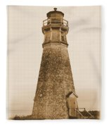 Cape Jourimain Lighthouse Fleece Blanket