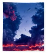 Cape Le Grande Sunset Fleece Blanket