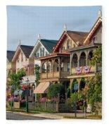 Cape May New Jersey Fleece Blanket