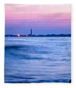 Cape May Seascape Fleece Blanket