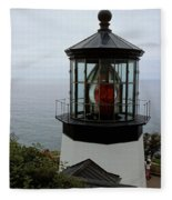 Cape Meares Light Fleece Blanket