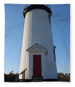 Cape Poge Lighthouse Fleece Blanket