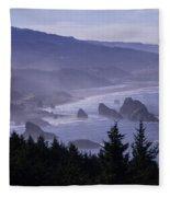 Cape Sebastian Fleece Blanket