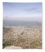 Cape Town Panoramic Fleece Blanket