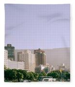 Cape Town Fleece Blanket