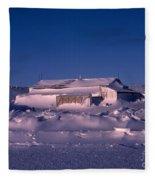 Capeevanshut-antarctica-g.punt-4 Fleece Blanket