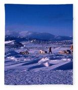 Capeevanshut-antarctica-g.punt-6 Fleece Blanket