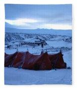 Capeevanshut-antarctica-g.punt-9 Fleece Blanket