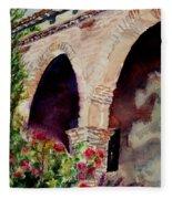 Capistrano Arches Fleece Blanket