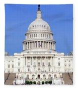 Capital Idea Fleece Blanket