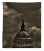 Capitol Dome Fleece Blanket