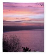 Capitola Bluffs Fleece Blanket