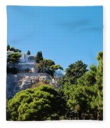 Capri's Gardens Fleece Blanket