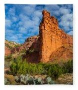 Caprock Canyon Rim Fleece Blanket