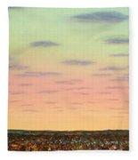 Caprock Sunrise Fleece Blanket
