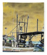 Capt. Jamie - Shrimp Boat - Photopower 01 Fleece Blanket