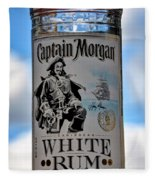 Captain Morgan White Rum Fleece Blanket