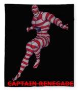 Captain Renegade Fleece Blanket