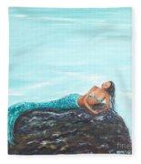 Captivating Mermaid Fleece Blanket