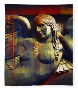 Captive In Stone Fleece Blanket