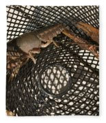 Captured Crawdaddies Fleece Blanket