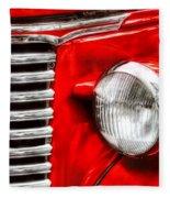 Car - Chevrolet Fleece Blanket