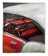 Car - Classic 50's  Fleece Blanket