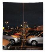 Car Park Beauty Fleece Blanket