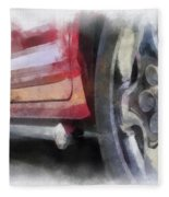Car Rims 02 Photo Art 01 Fleece Blanket