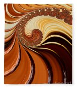 Caramel  Fleece Blanket