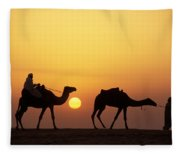 Caravan Morocco Fleece Blanket