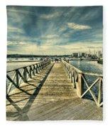 Cardiff Bay Wetlands Fleece Blanket