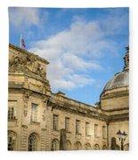 Cardiff City Hall Fleece Blanket