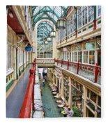 Cardiff Wyndham Arcade 8278 Fleece Blanket