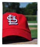 Cardinals In Iowa Fleece Blanket