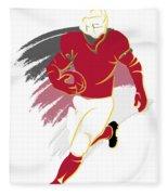 Cardinals Shadow Player2 Fleece Blanket