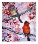 Cardinals  Fleece Blanket