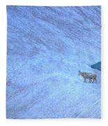 Careful Down Fleece Blanket
