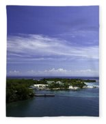 Caribbean Breeze Five Fleece Blanket