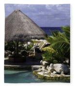 Caribbean Breeze Four Fleece Blanket