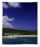 Caribbean Breeze Nine Fleece Blanket